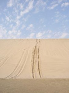 Doha_Sand Dune tracks