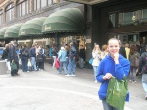 London; Harrods; Oh What Shopping!