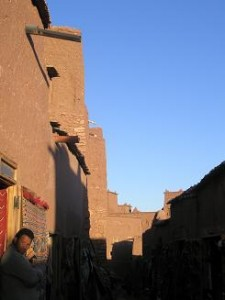 Morocco; Beautiful Lighting at AitBenhaddou