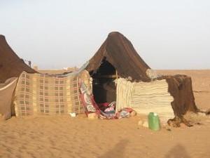 Morocco; TinfouDunes; BerberTent