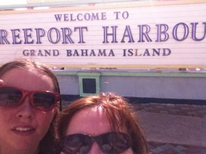 Freeport Harbour Bahamas