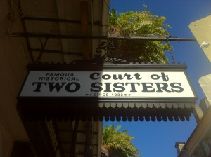 """Two Sisters"" in New Orleans"