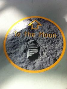 NASA Neil Armstrong footprint