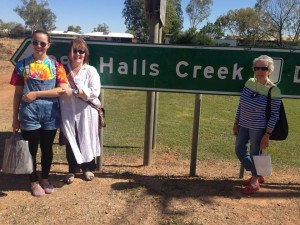 the Hall girls at Halls Creek